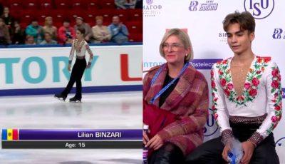Lilian Bânzari, legenda patinajului moldovenesc, are nevoie de susținere pentru a-și urma visul