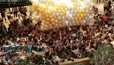 Video! S-au călcat în picioare pentru cadouri gratuite. Mai mulţi oameni au fost spitalizaţi