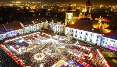 Târgul de Crăciun din Sibiu este considerat cel mai frumos din Europa