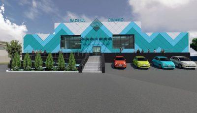 Bazinul Dinamo se transformă într-un centru modern de natație. Iată cum va arăta!