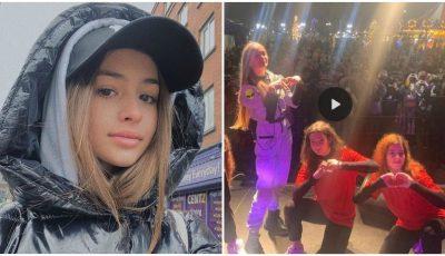 Video! Mii de copii și adolescenți, însosiți de părinți, au venit la concertul Iulianei Beregoi din România