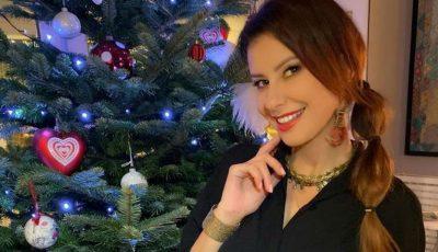 Natalia Barbu a împodobit Pomul de Crăciun, împreună cu fiul ei, Victoraș!