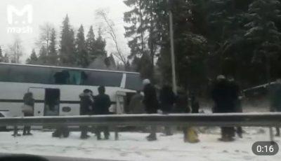 Un șofer moldovean de pe cursa Sankt Petersburg-Chișinău a murit, încercând să salveze viața pasagerilor săi