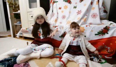 O urătură de zile mari! Fetițele actorilor Aliona Triboi și Ghenadie Gâlcă au topit inimile internauților
