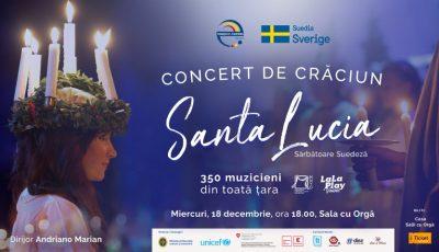 """Anna Lyberg, Ambasadoarea Suediei în Moldova cordial invită la Concertul de Crăciun """"Santa Lucia"""""""