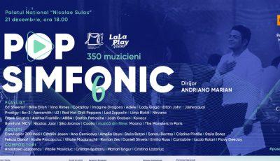 Pop Simfonic revine cu cel mai grandios și bogat concert de până acum, în a 6-a ediție!