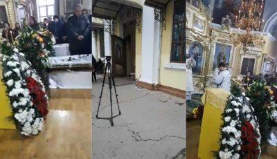 Soția ex-președintelui Mircea Snegur este condusă pe ultimul drum