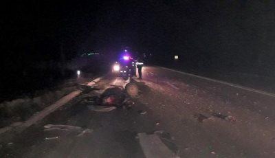 Un Ford a lovit o căruță care mergea pe contrasens, la Sângerei