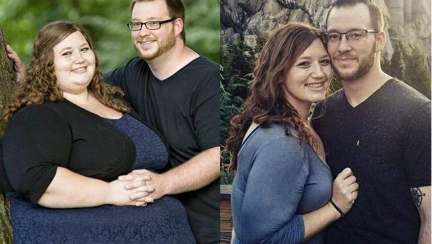 Foto: Un cuplu a reușit să slăbească împreună 180 de kg. Un vis realizat!