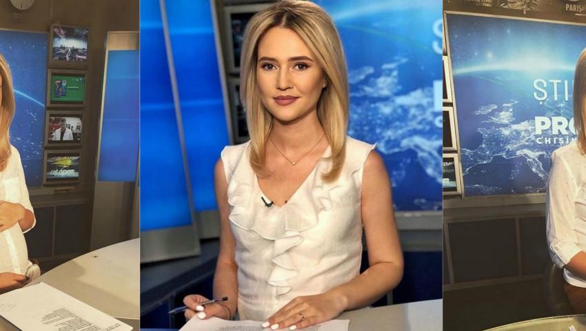Foto: Prezentatoarea TV Tatiana Nastas a devenit mămică