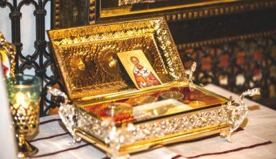 La Chișinău au fost aduse Moaștele Sfântului Nicolae, făcătorul de minuni