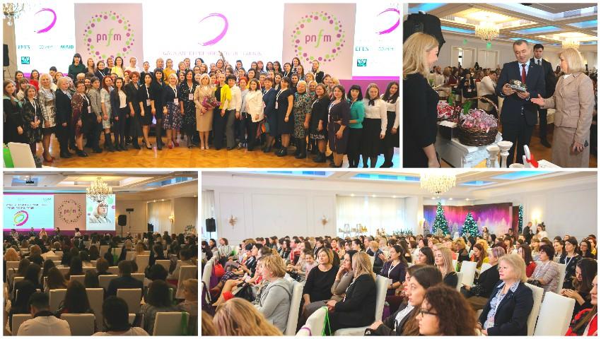 Foto: Femeile din toată țara care au creat și gestionează afaceri, au fost premiate la Chișinău