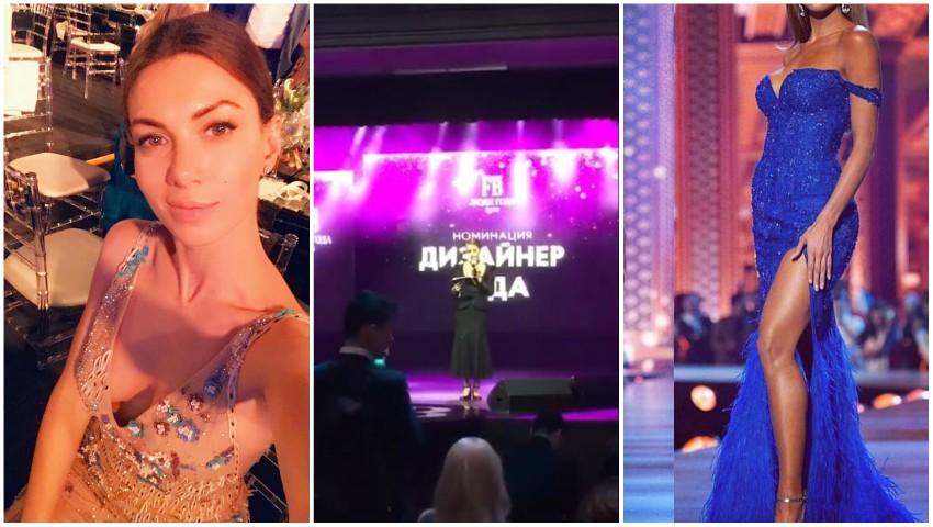 """Foto: Creatoarea de modă Olga Blanc a fost desemnată ,,Designerul Anului"""" în Rusia"""