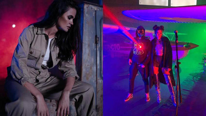 """Foto: Katy Rain revine cu un videoclip din afara spațiului la piesa """"Good Luck""""!"""