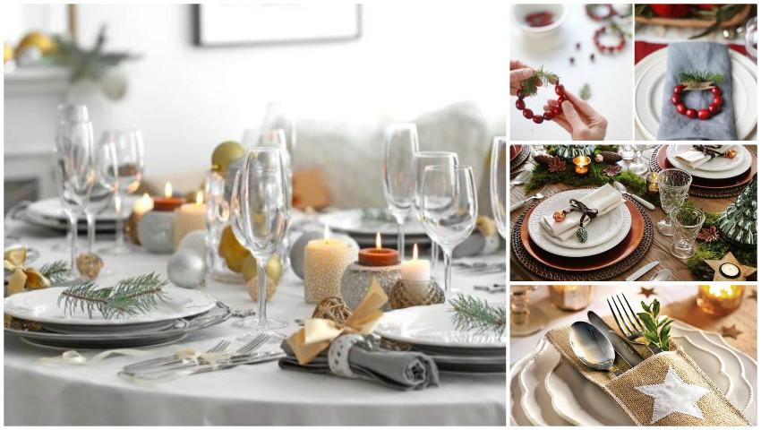 Foto: Foto. Cum să decorezi o masă de Anul Nou