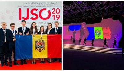 Elevii moldoveni au obținut 6 medalii la Olimpiada Internaţională de Științe pentru Juniori