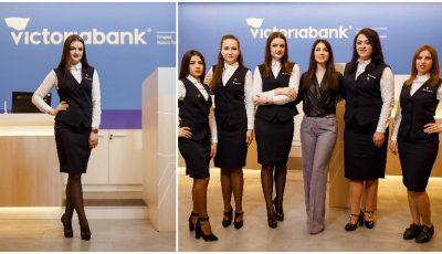 Un cunoscut brand vestimentar a creat uniformele angajaților Victoriabank