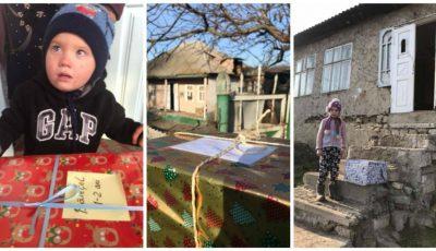 Bucurie! Sute de copii din țară primesc cadouri de Crăciun, datorită mamelor care fac donații din diferite colțuri ale lumii