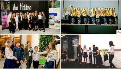 """Bravo, copii! Școlile câștigătoare în cadrul concursului ,,Hai Moldova"""" au câștigat cișmele cu apă potabilă și alte cadouri"""
