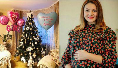 Cristy Rouge a născut o fetiță!