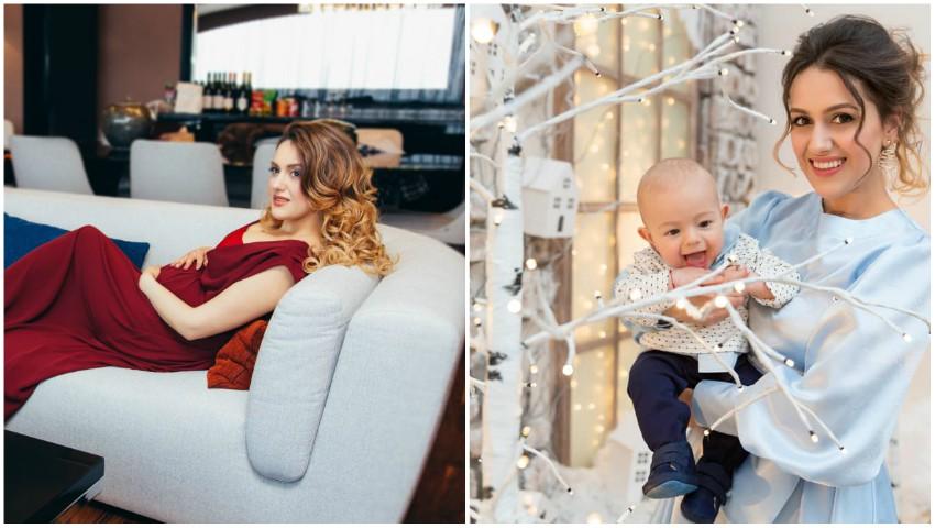 Foto: Bloggerița Daniela Dermengi va deveni mămică pentru a doua oară