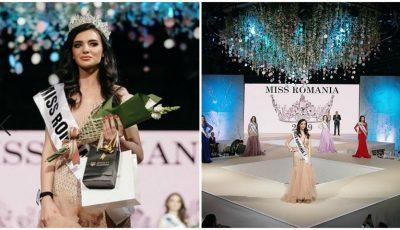 """Moldoveanca Ecaterina Emilianov a devenit câștigătoarea concursului de frumusețe ,,Miss România 2019"""""""