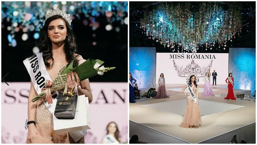 """Foto: Moldoveanca Ecaterina Emilianov a devenit câștigătoarea concursului de frumusețe ,,Miss România 2019"""""""