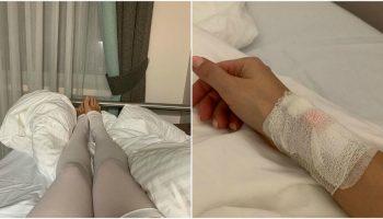 Lera Kudreavțeva trece prin momente de coșmar, după ce i s-a spart un implant mamar