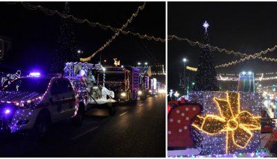 Foto! În PMAN, a fost dat startul Caravanei de Crăciun a Salvatorilor și Pompierilor