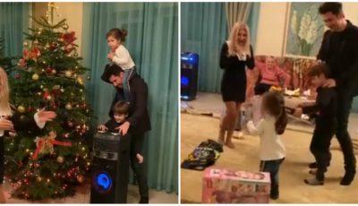 Video! Spirit de sărbătoare acasă la Dan Bălan! Vezi ce surprize a pregătit artistul pentru nepoțeii săi