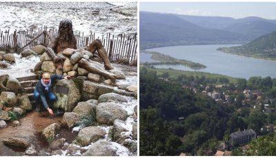 Un prezentator moldovean ne arată locul din care izvorăște Dunărea