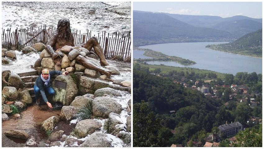 Foto: Un prezentator moldovean ne arată locul din care izvorăște Dunărea