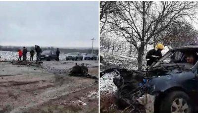 Accident cumplit pe traseul Ocnița-Otaci: un mort și trei răniți în stare gravă
