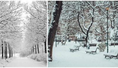 Foto! Moldova a îmbrăcat straie albe!