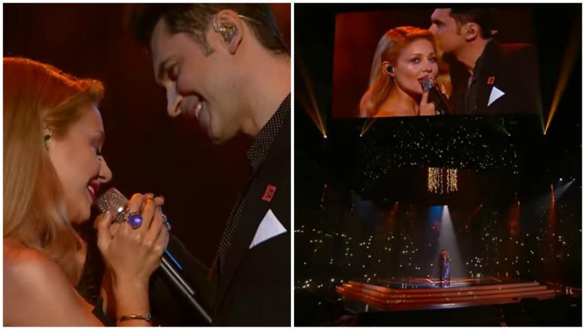 Foto: Dan Balan și Tina Karol, din nou împreună, la M1 Music Awards! Vezi în ce ipostaze tandre au fost surprinși