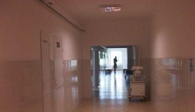 Cadavrul unui bărbat a fost depistat pe teritoriul Spitalului Raional Florești