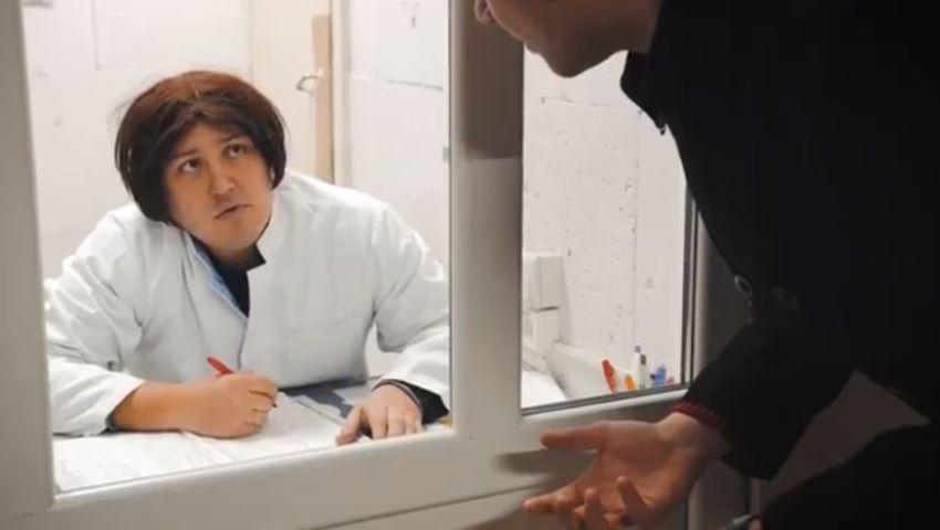 Foto: Video! La policlinică, cu echipa Comedy Zebra Show. Partea a II-a