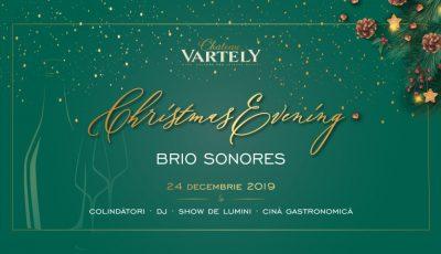""",,Christmas Evening"""" – bucură-te de o seară de Ajun memorabilă la Château Vartely!"""