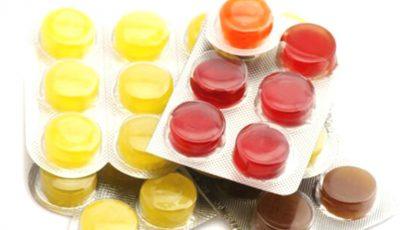 Unele pastile de gât împotriva răcelii sunt pline de E-uri. Vezi care sunt acestea!