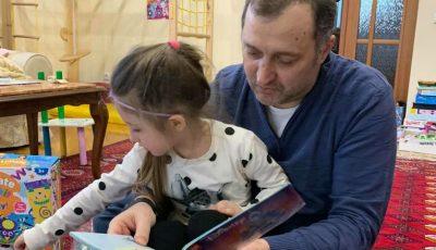 Vlad Filat și-a revăzut fiica. Emoții mari pentru Ekaterina