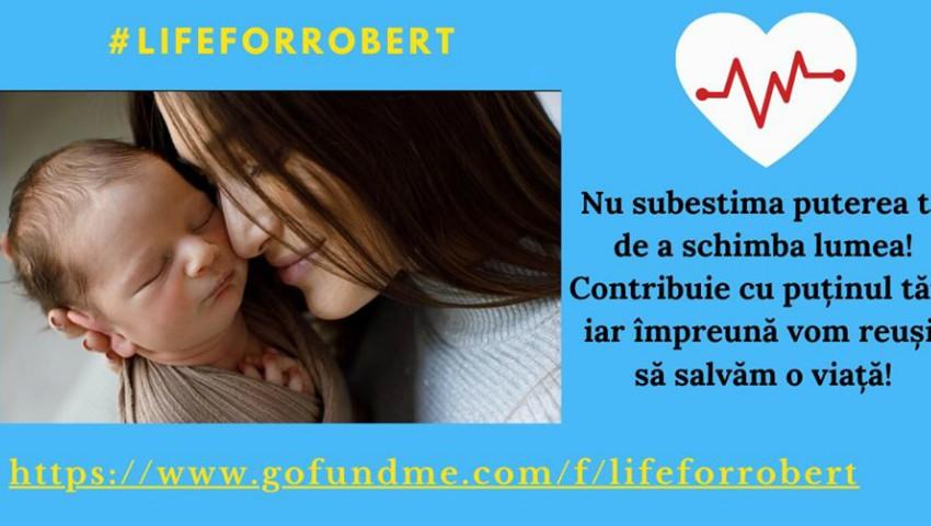 Foto: Târg de caritate! Ajută-l pe Robert să poată avea o copilărie sănătoasă!