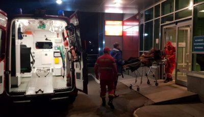 O tânără din Glodeni a fost transportată la o clinică privată din Chișinău, cu un echipaj Smurd