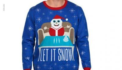 Rețeaua de magazine Walmart a retras din vânzare puloverul cu Moş Crăciun și cocaina