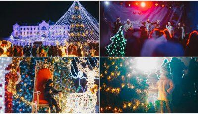 Foto! La Castel Mimi a fost feerie în Ajunul Crăciunului, pe ritmurile orchestrei lui Cristofor Aldea-Teodorovici