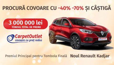 Cumpără covoare cu reducere de -40% -70% și câștigă automobilul visurilor tale!