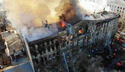 Incendiul din Odessa: 14 persoane sunt date dispărute