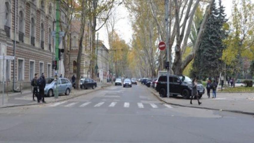 Foto: Atenție, șoferi! Traficul rutier pe o stradă din centrul Capitalei este suspendat temporar