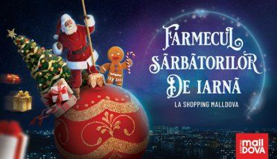 La Shopping MallDova sărbătorile de iarnă îți aduc: jucării dansatoare, spectacol de păpuși și cadouri dulci pentru fiecare copil