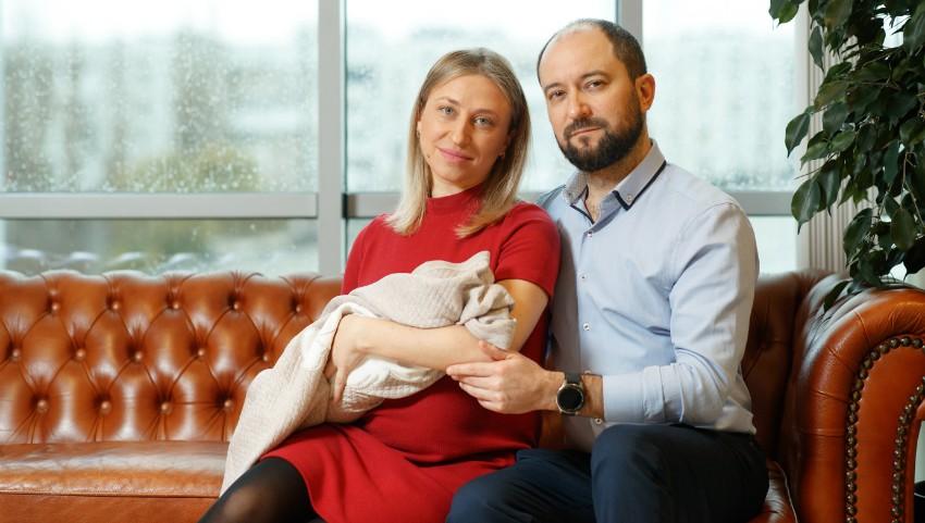 Foto: De ce aleg medicii Maternitatea Medpark? Experiența familiei Goroșenco care a optat pentru grijă și siguranță