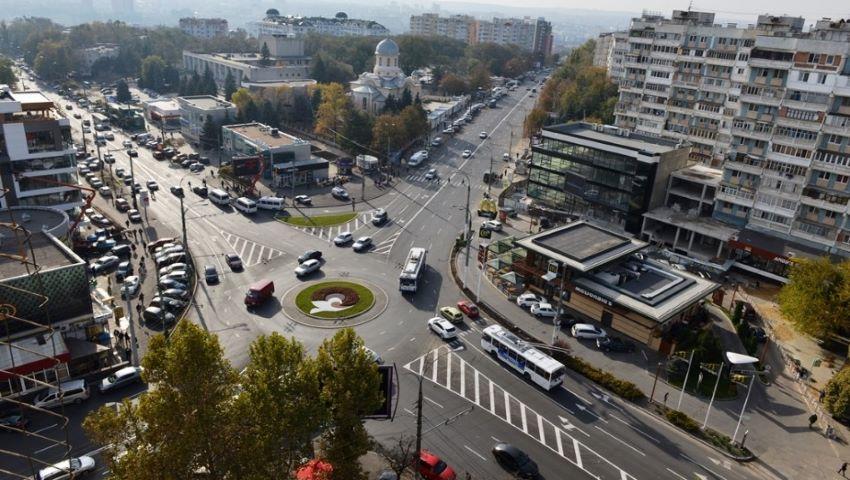 Foto: Sensul giratoriu din sectorul Râșcani va fi eliminat